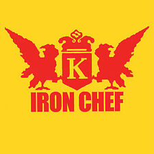 IRON CHEF funny japanese cult tv show T Shirt LOOK!