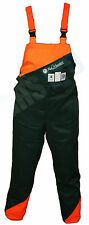 CHAINSAW SAFETY FORESTRY BIB & BRACE TROUSERS SUIT MITOX CHAINSAW USERS