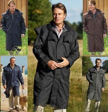 MENS CHAMPION JACKET FULL LENGTH RIDING COAT CAPE 4 COLS HIGHGROVE