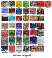 11/0 Czech Glass Seed Beads 15-Grams Choose Color