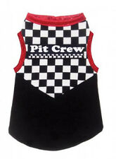 NEW Hip Doggie Black Pit Crew Dog Tank Tee Shirt - Several sizes