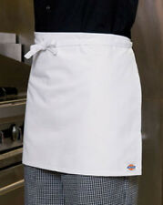 NWT Dickies Hospitality CW080305 WHITE Tie Back Kitchen Chef Four Way Apron
