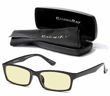GAMMA RAY GR001 Anti Blue Rays & Glare Computer Gaming Glasses w/ UV Protection