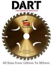 DART Gold Series TCT Wood/Timber Cutting Circular Saw Blades,From 120mm To 305mm