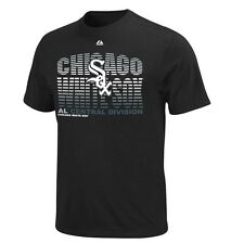 NEW MLB Chicago White Sox Black Turn to Victory Shirt Black M L XL XXL