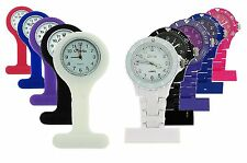 The Olivia Collection Unisex Rubber Plastic Professional Nurses Fob Watch