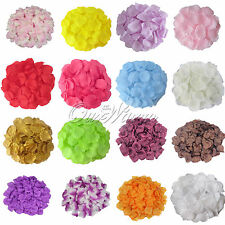 200 Silk Flower Rose Petals Wedding Party Favor Confetti Decor Bridal Supplies