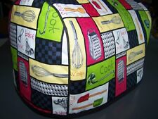 Kitchen Tools Patchwork Quilted Fabric 2-Slice or 4-Slice Toaster Cover NEW