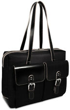 Jack Georges Generations Edge Zip Closure Business Tote, Front Pockets