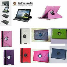 """Rotating Leather Case+Film+Stylus For 10.1"""" Asus Transformer Pad TF300TG TF30OKL"""
