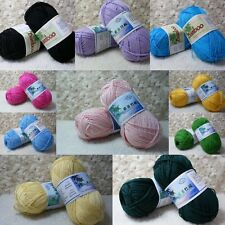 Wholesale!Soft Smooth Natural Bamboo Cotton Knitting Yarn Lot;Fingering,25Color
