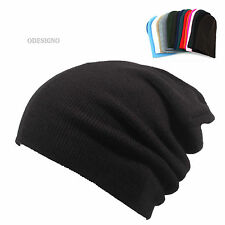 Brand New Beanie Black hat stylish beanie Mens hats long soft skull hats