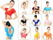New Belly Dance Wear Top Outfit Garments Costumes Choli Blouse Cord Sexy Sleeve