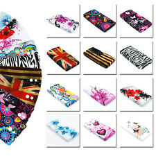 Colorful Print Soft TPU Rubber Silicone Cover Case Skin For Sony Xperia P LT22i