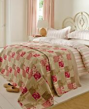 "Red & Cream Stripe ""Province"" Duvet Cover Set or Curtains or Patchwork Quilt"