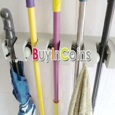 Special Design 3/5Position Wall Kitchen tool Rack Mop Broom Holders Hook