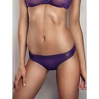 Gossard Glossies Sheer THONG in BLUEBERRY Freepost UK!