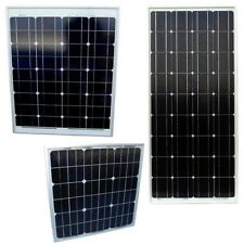 HQRP 6W 12W 20W 50W 85W Watt Photovoltaic PV Solar Panel Kit 12V RV Boat Grid