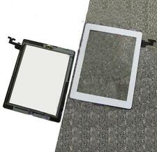 New Digitizer Touch Screen Glass+Home Button Adhesive Assembly CU Fit For iPad 2