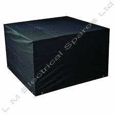 4 Seater Waterproof Garden Furniture Rectangular Cube Set Cover 3 Sizes