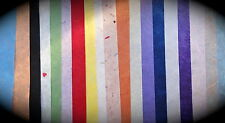 MULBERRY TISSUE PAPER 20 x A4 Sheets - VARIOUS COLOURS - crafts & gift wrapping