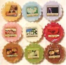 (R-Z Scent Choices) Yankee Candle TARTS WAX MELTS Potpourri Tart VARIETY (R - Z)