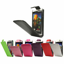 FLIP PU LEATHER FLIP CASE FOR THE SONY ERICSSON XPERIA ARC S / ARC X12 !!