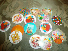 Pre Cut  One Inch CANDY CRUSH  Images! Free Shipping
