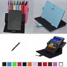 "Colorful Rotary Magic Case+Stylus For 7"" MSI Primo 73/Primo 76/Primo 75 Tablet"