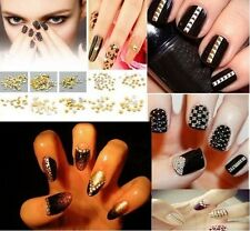 7 Styles New Nail Art 500 Pieces Metal Studs for Nails DIY Decoration