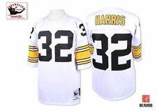 1975 Franco Harris Pittsburgh Steelers MITCHELL & NESS White Jersey (40-44)