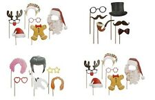 Photo Props Kit Picture on Stick Novelty Fun Party Game Photo Booth Phone Camera