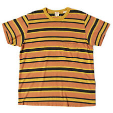 LVC Levi's Vintage Clothing 1960s Striped Tee Golden GLow RRP £75