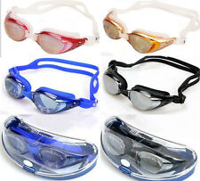 Adult Non-Fogging Professional UV Swimming Goggles Glasses Adjustable Protection