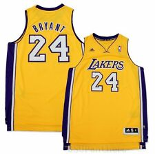 Kobe Bryant LA Lakers Revolutionary 30 Adidas Swingman Gold Men's Jersey (M-2XL)