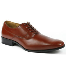 Delli Aldo Mens Lace Up Wing Tip Oxford Dress Shoes w/ Leather lining M-19121