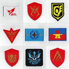 GUNDAM Military Tactical Morale Embroidery Velcro Patch Badges Series 2