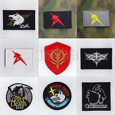 GUNDAM Military Tactical Morale Embroidery Velcro Patch Badges Series 3