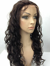"8""-22"" Body Wave Lace Front Wig -100% Remy Human Hair 1#1b#2#4#1b/30# cheap"