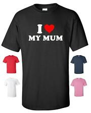 I LOVE HEART MY MUM FUNNY T-SHIRT MENS WOMENS CHILDRENS SIZES CHRISTMAS MOTHERS