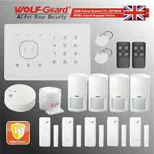 RFID Touch keypad Voice Wireless GSM Security Alarm System WOLF-GUARD M2G-C