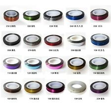 20colors Mixed Colors Rolls Striping Tape Line Nail Art Tips Decoration Sticker