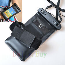 Waterproof & Armband Bag Skin Case for Various Mobile Cell Phones Phablet 2013