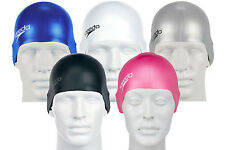 023630 SPORTS DEAL Speedo Silicone Adult Swimming Cap - Various Colours