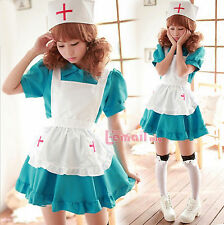 maidservant outfit nurse Princess cosplay costume/Apparel WSJ46