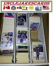 1983-84 OPC BOSTON BRUINS Select from LIST SEE SCAN NHL HOCKEY CARDS O-PEE-CHEE