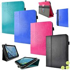 "Kozmicc 7"" - 8"" Inch Universal Adjustable Folio Stand Tablet Case Cover NEW"
