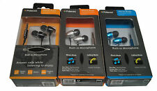 Polaroid PHP729 Metal Buds Earbuds W/ Built-in Mic