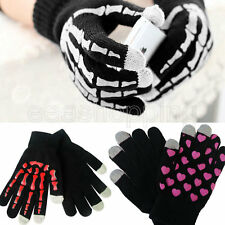 New Magic Touch Winter Gloves Smartphone Touch Screen Text/Grip Unisex Mittens *