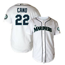 2014 Robinson Cano Seattle Mariners Authentic On-field YOUTH Home Jersey (S-XL)